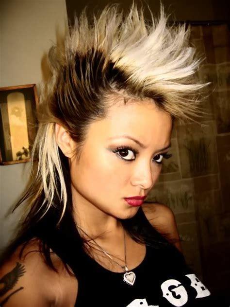 visual history  mohawk hairstyles strayhair