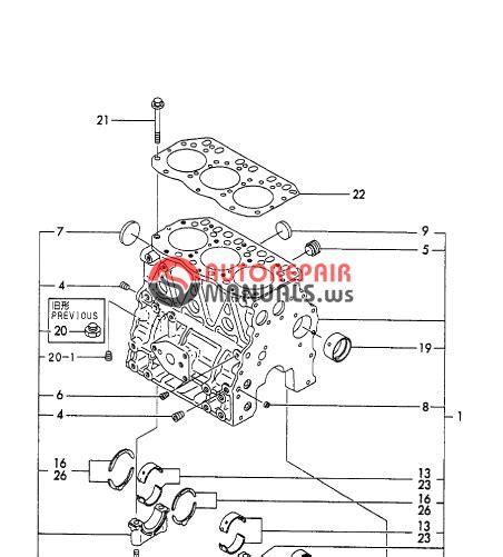 Yanmar Engine 3tne78a B1 B22 2b Parts Catalog Auto