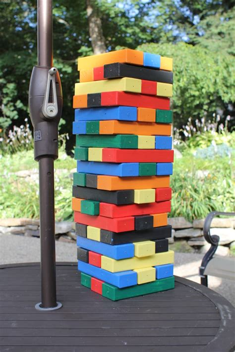 how to make backyard jenga how to make a giant jenga game a concord carpenter