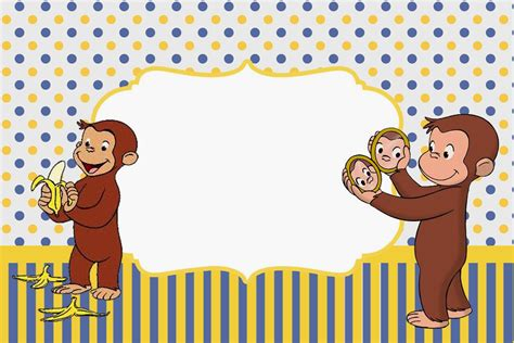 Curious George Birthday Invitation Template curious george birthday invitation template invitation librarry