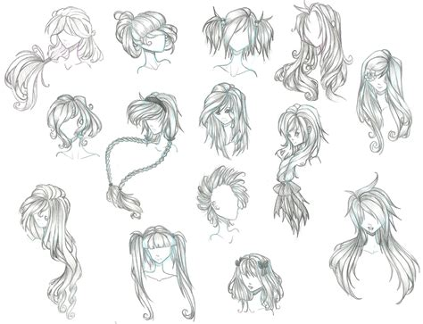 anime hairstyles hd anime girl hairstyles drawings anime hairstyles for girls