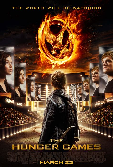 full version of the hunger games movie help unveil a new poster for the hunger games collider