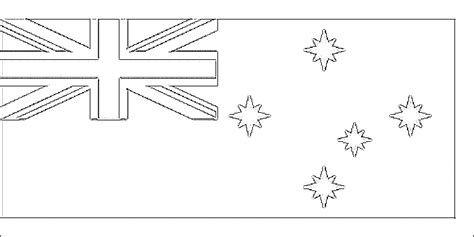 Australian Flag Coloring Child Coloring Australian Flag Colouring Page