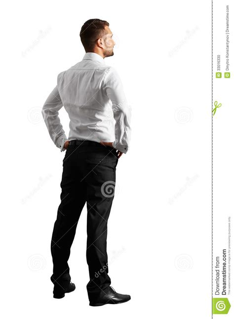 back view back view of businessman stock photo image 33016330