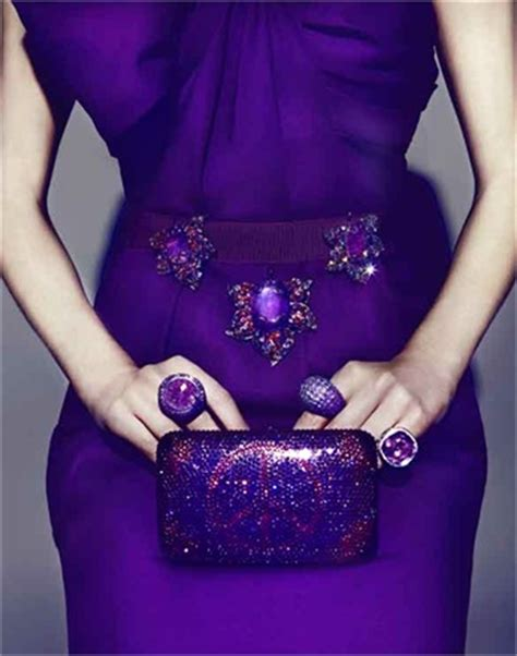 Purple jewels   Vogue.it