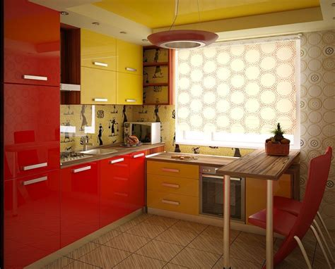 yellow and red kitchens yellow and red kitchen interior design ideas and photo gallery