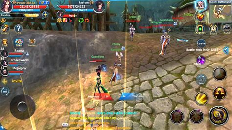 best android mmorpg forsaken world mobile battlefield pvp ios android soft launch canada mmorpg