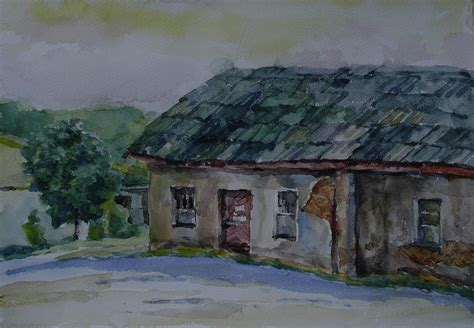 famous house painters old famous house by tomas jovaisa