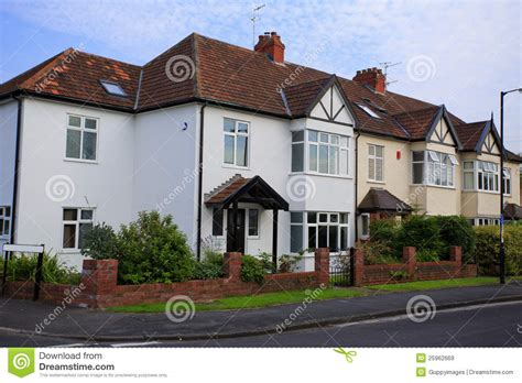 typical home typical 1930s semi detatched house stock image image 25962669