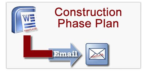 construction phase plan template construction phase plan templates