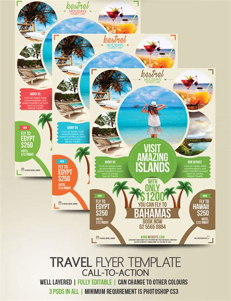 flyer design for travel agency travel agency flyer design advertise your holiday deals