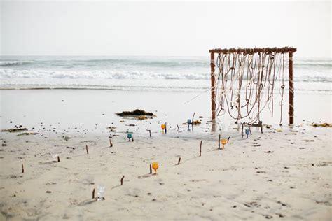 Bohemian Beach Wedding Inspiration   Modern Wedding