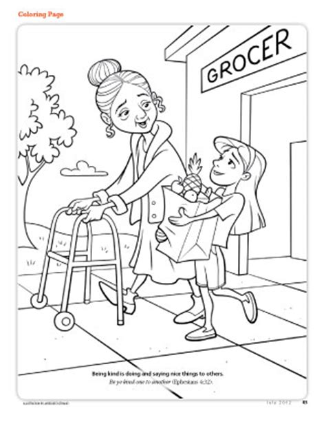 coloring books for the elderly free lds clipart to color for primary children