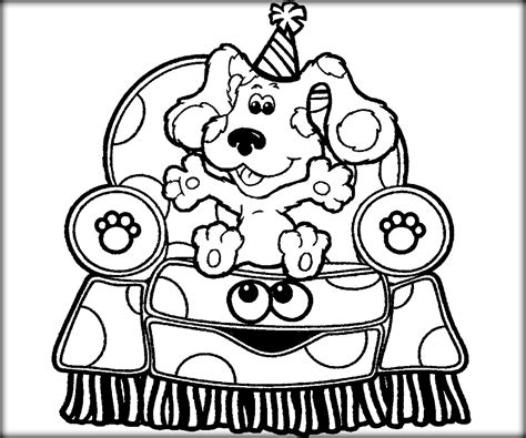 nick jr blue s clues coloring pages avengers coloring pages for kids printable treasure chest
