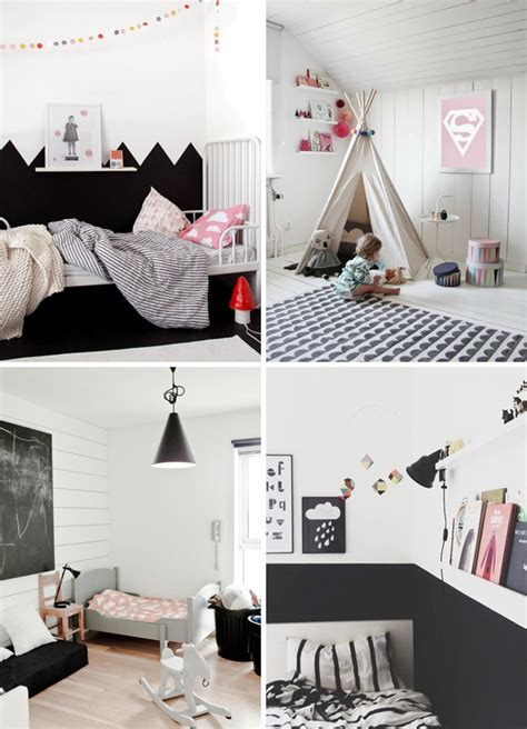 Kid Play Rug How To Decorate A Monochrome Kids Room Room To Bloom