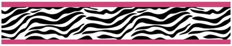 zebra wallpaper border for bedrooms funky zebra baby kids and teens wall paper border by