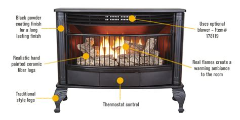 new procom qd250t thermo controlled vent free gas stove