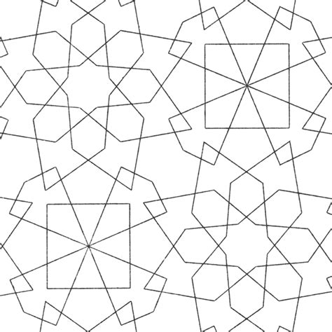 islamic pattern color free coloring pages of islamic art kids images