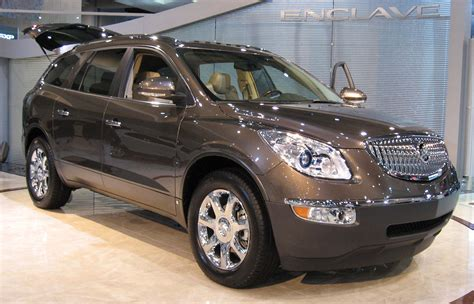 The Buick Enclave Best 7 Passenger Suvs For 2012