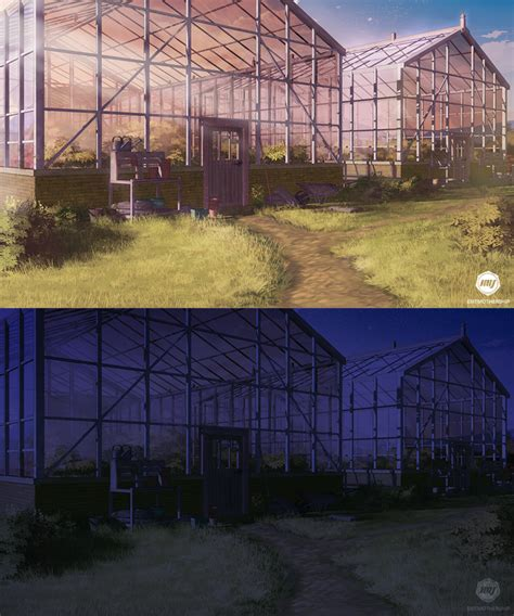 wallpaper of green house background greenhouses vn commission by exitmothership