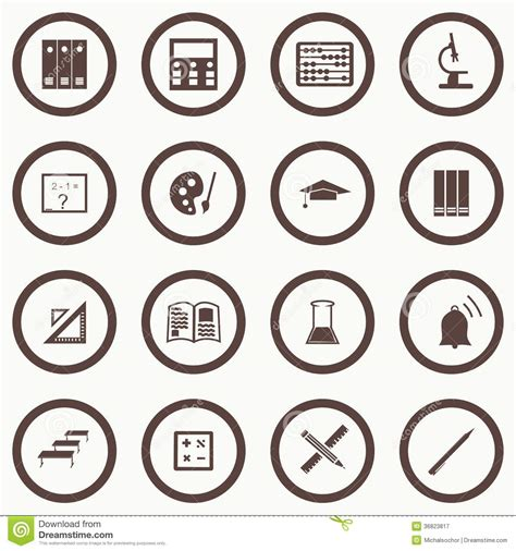 pattern education abstract vector seamless pattern with education icons abstract