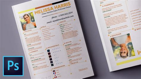 10 graphic design tips for create a resume layouts in
