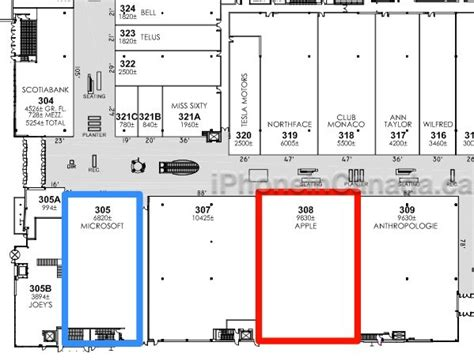 yorkdale floor plan iphone apple yorkdale
