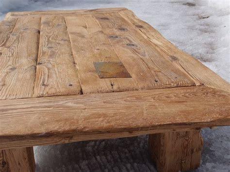 coffee table   year  hemlock  red pine