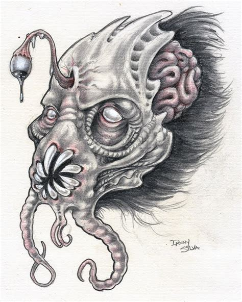 demon pencil drawings www pixshark com images