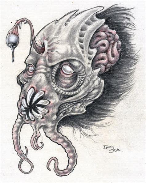 demon pencil drawings www pixshark com images
