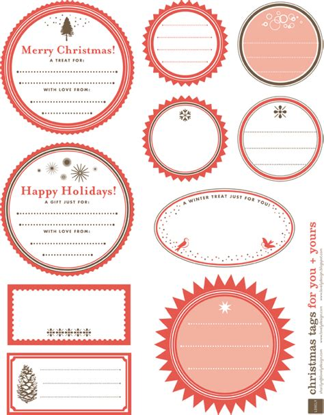 printable round christmas gift tags free printable christmas gift tag labels