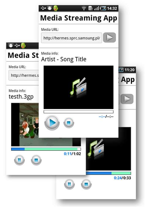 tutorial video streaming android media streaming tutorial samsung developers
