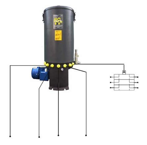 187 multi line lubrication system for grease and