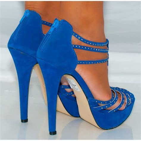 blue suede high heels   28 images   l37 blue suede high