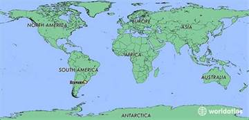 Uruguay On A World Map by Where Is Uruguay Where Is Uruguay Located In The World