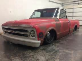 67 Chevy Truck Wheels 1967 Chevrolet C10 With 20 Quot Steelies Detroit Steel Wheels
