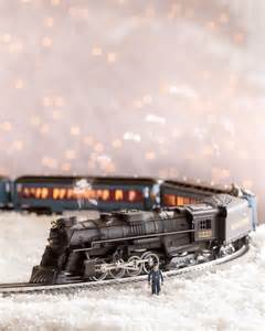 Polar express toy train balsam hill