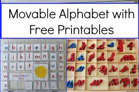 free printable montessori moveable alphabet montessori alphabet archives natural beach living
