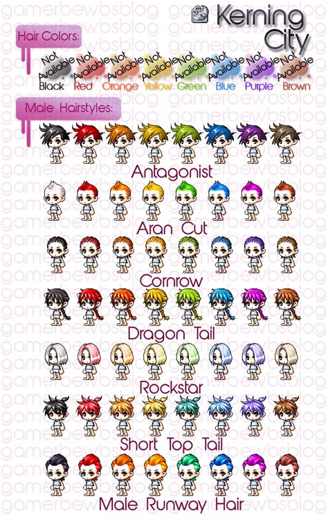 maplestory hairstyles by town maplestory hairstyles by town maplestory hair all male