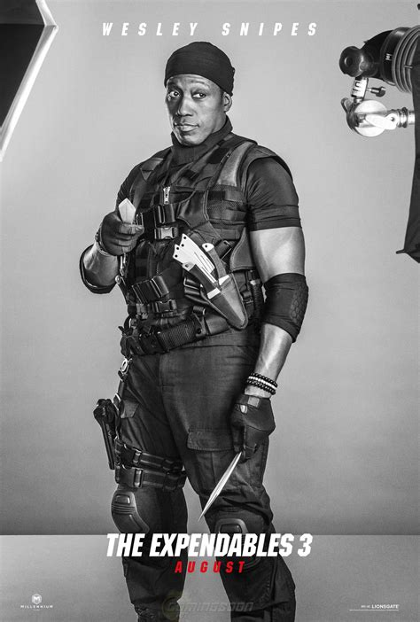 the expendables 3 2014 big screen action exclusive the expendables 3 character posters featuring