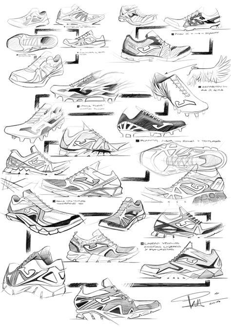 Sepatu Casual Project Zapato soccer boots sketches by pedro manzanero villanueva at