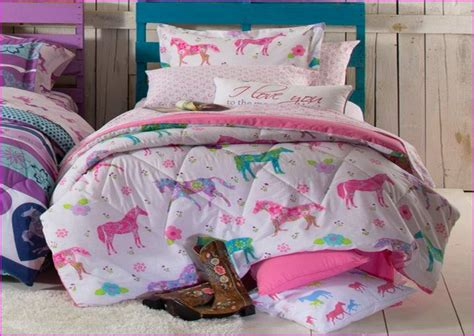 wonderful Twin Bed Bedroom Decorating Ideas #1: horse-bed-in-a-bag-twin.jpg