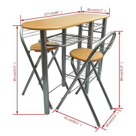 tavolo cucina con sedie tavolo da cucina con sedie set in legno vidaxl it