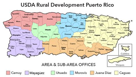 Rural Development Usda by Image Gallery Labeled Map With Pr