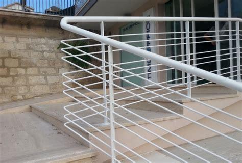 ringhiera esterna tecnica alluminio