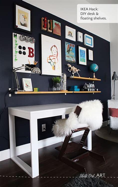 ikea wall shelves hack best 25 desk shelves ideas on pinterest desk space