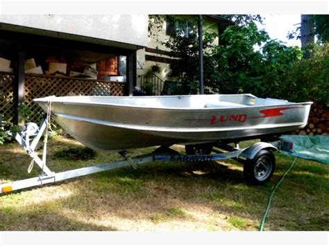 lund boats victoria bc 12 ft lund aluminum boat trailer 8 hp motor central