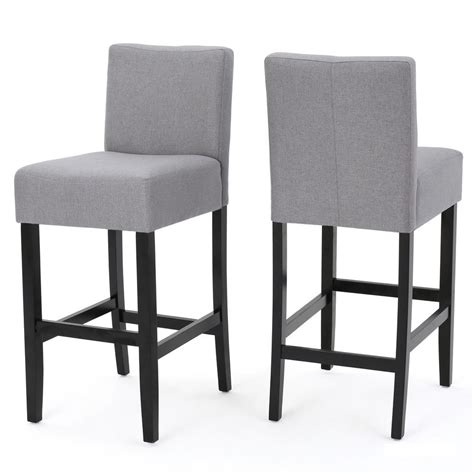 Grey Cloth Bar Stools by Cloth Bar Stools With Arms Droughtrelief Org