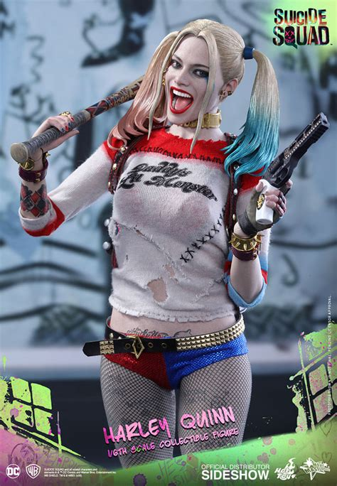 hot toys harley quinn dc comics harley quinn sixth scale figure by hot toys