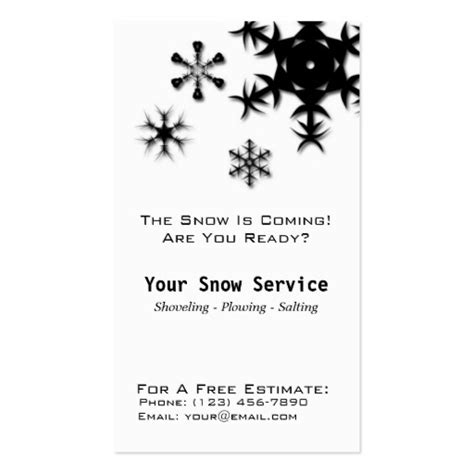 templates brochure snow removal snow removal snow plowing vertical black and whit